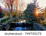 dilijan.armenia. | Shutterstock . vector #749735173