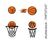 template vector ball for logo...   Shutterstock .eps vector #749737147