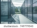 chain link fence sport active... | Shutterstock . vector #749779543