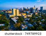 austin texas right before... | Shutterstock . vector #749789923