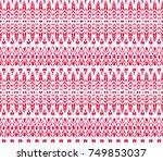 design for oriental cloth ... | Shutterstock . vector #749853037
