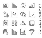 simple collection of data...   Shutterstock .eps vector #749859913