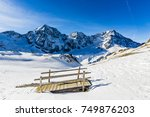snow in winter season ...   Shutterstock . vector #749876203