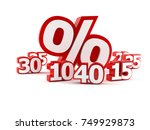 promotion concept isolated on... | Shutterstock . vector #749929873