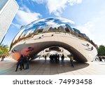 chicago   november 14 ... | Shutterstock . vector #74993458