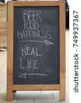 Small photo of Beer/Food/Happiness - Real Life