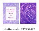 vector liquid abstract... | Shutterstock .eps vector #749959477