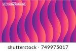 seamless wavy texture... | Shutterstock .eps vector #749975017