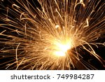 christmas and newyear party... | Shutterstock . vector #749984287
