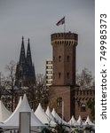Small photo of Tower of the Cologne Rhine River