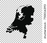 vector map netherlands....   Shutterstock .eps vector #750016393