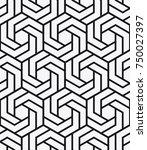 vector seamless pattern. modern ...   Shutterstock .eps vector #750027397