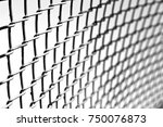 abstract texture of a metal... | Shutterstock . vector #750076873