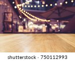 table top counter light... | Shutterstock . vector #750112993