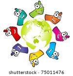 ok design | Shutterstock .eps vector #75011476
