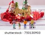 miniature people   people... | Shutterstock . vector #750130903