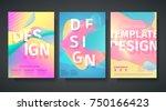 template for the design of... | Shutterstock .eps vector #750166423