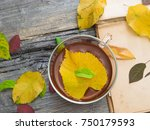 warm tea for autumn | Shutterstock . vector #750179593