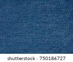 blue jeans fabric texture ... | Shutterstock . vector #750186727