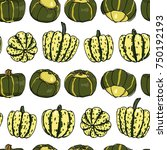 vector seamless pattern with ... | Shutterstock .eps vector #750192193