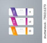 business infographics template... | Shutterstock .eps vector #750211273