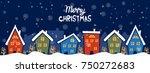 cartoon illustration banner for ... | Shutterstock .eps vector #750272683