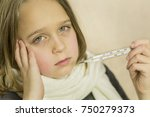 a child is sick flu