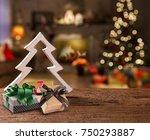 christmas decoration. christmas ...   Shutterstock . vector #750293887
