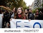 thessaloniki  greece   november ... | Shutterstock . vector #750297277