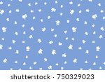 thumb up seamless background.... | Shutterstock .eps vector #750329023