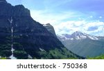 view in glacier national park | Shutterstock . vector #750368