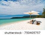 landscape photo of beautiful... | Shutterstock . vector #750405757