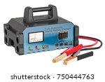 battery charger  3d rendering... | Shutterstock . vector #750444763