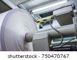 flexography roll material...   Shutterstock . vector #750470767