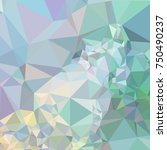 low poly mosaic background.... | Shutterstock .eps vector #750490237