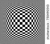 checkered displacement  ... | Shutterstock .eps vector #750490543