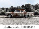 57 Studebaker Rusted   Circa...