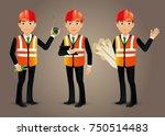 elegant people professional... | Shutterstock .eps vector #750514483