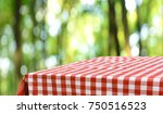 empty table background | Shutterstock . vector #750516523