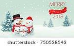 christmas snowman family banner ...