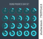 vector illustration of round... | Shutterstock .eps vector #750591613