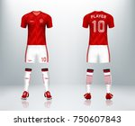 3d realistic of front and back...   Shutterstock .eps vector #750607843