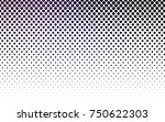 dark purple  pink vector... | Shutterstock .eps vector #750622303
