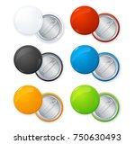 realistic shiny empty color... | Shutterstock . vector #750630493