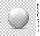 vector realistic transparent... | Shutterstock .eps vector #750630577