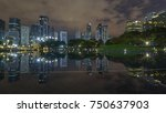 reflection of commercial... | Shutterstock . vector #750637903