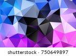 light pink  blue vector... | Shutterstock .eps vector #750649897