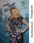 """Small photo of NEW YORK - MAR 27: Megan Hilty arriving at the """"How To Succeed In Business Without Really Trying"""" premiere at the Al Hirschfeld Theatre in New York, NY on March 27, 2011."""