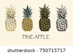 vector illustration. sketch... | Shutterstock .eps vector #750715717