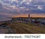herne bay  kent  uk  09 october ... | Shutterstock . vector #750774187